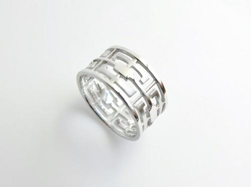grata silver ring