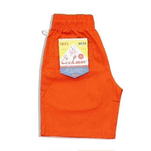 COOKMAN CHEF SHORT PANTS「ORANGE」/ ORANGE