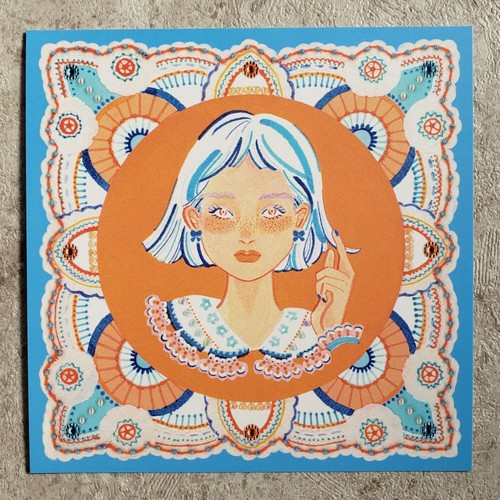POST CARD 【Lace 1】
