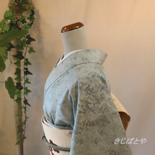 大島紬 瓶覗の小紋 袷
