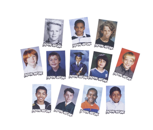 Class Photo Sticker Pack