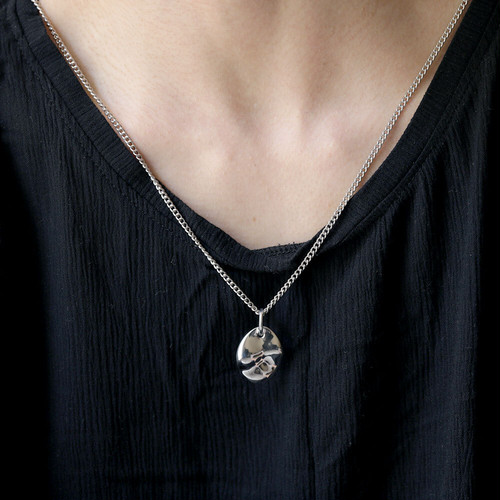 N103 / Water TOP necklace (silver)