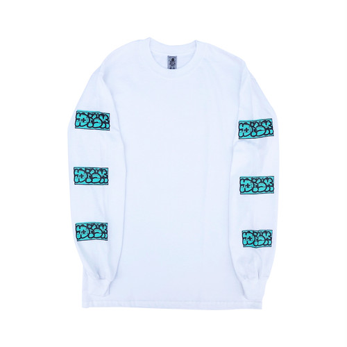 DISK Throw Up L/S -Mint Blue-