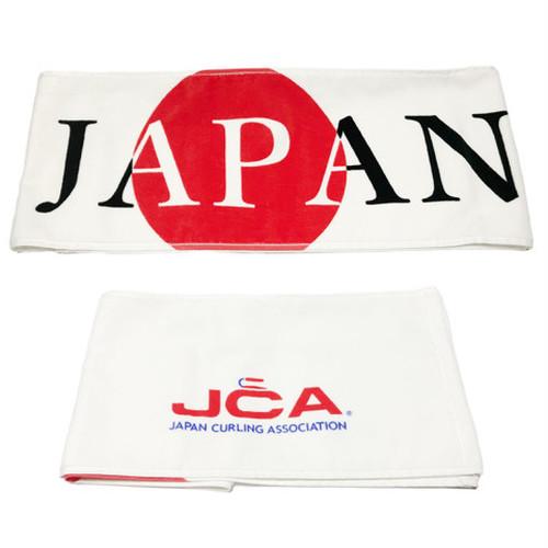 日本カーリング協会オフィシャル マフラータオル