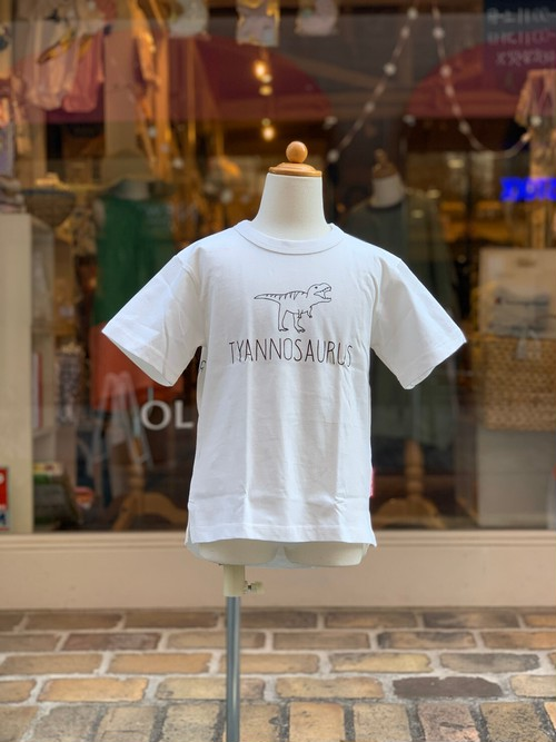 OFFICIAL TEAM  VARIOUS DINOSAUR COOL TOUCH T-SHIRT(OFF WHITE/S,M,L size)