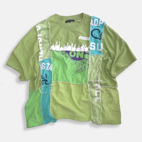 WCH Remake Handlock Patching Tee -Green01