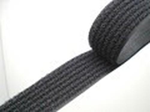 クラレ フリーマジック 縫製タイプ 黒 20mm幅 1m