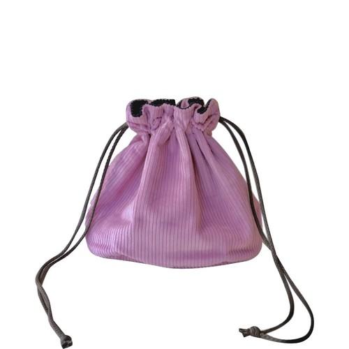 Reversible Bag/Pink×Navy