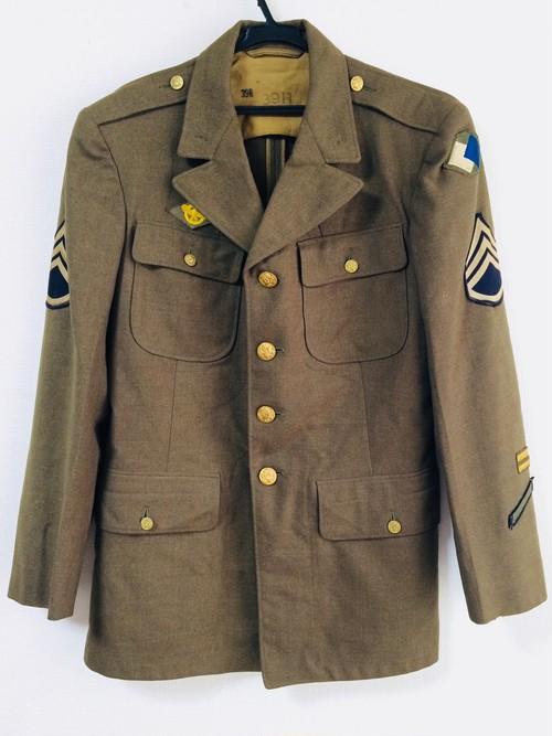 U.S.ARMY UNIFORM WWⅡ/アメリカ陸軍制服/第二次世界大戦/米軍