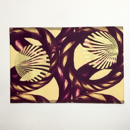 ブックカバー アフリカンテキスタイル(日本縫製) リングロープ|アフリカ エスニック ガーナ布