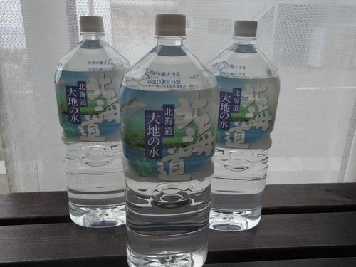 美味い水は北海道にあります天然アルカリイオン水 大地の水 2リットル×12本