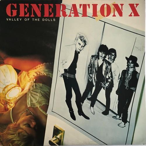 【LP・英盤】Generation X  /  Valley Of The Dolls