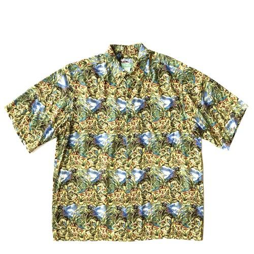 レインスプーナー / USEDアロハシャツ / size L