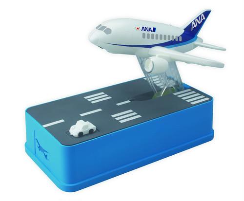 飛行機貯金箱 ANA <Aviation coin bank ANA version>