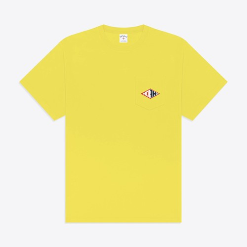 Shaper Pocket Tee(Cyber Yellow)