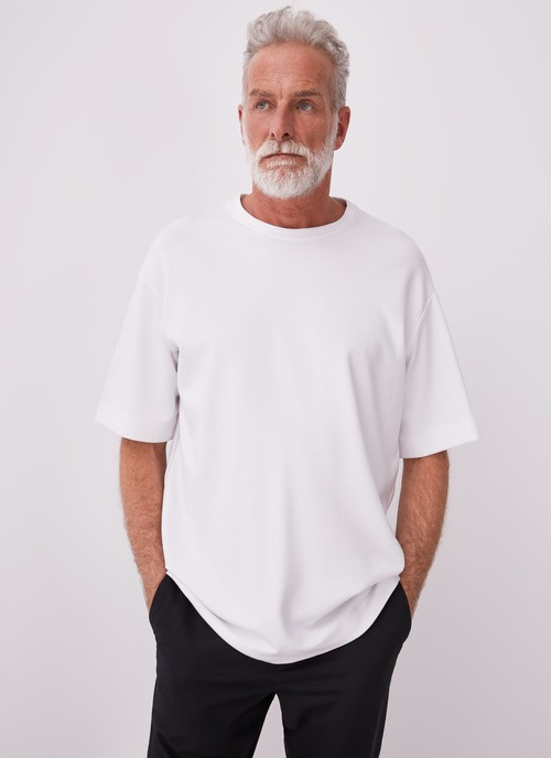 OVERSIZE T-SHIRT WITH CREW NECK