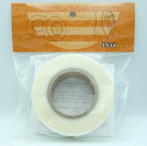 YNAK テント ザック タープ シート レインウェアー 補修 メンテナンス 用 強力 シームテープ アイロン式 説明書付き (幅25mm×長さ40m)