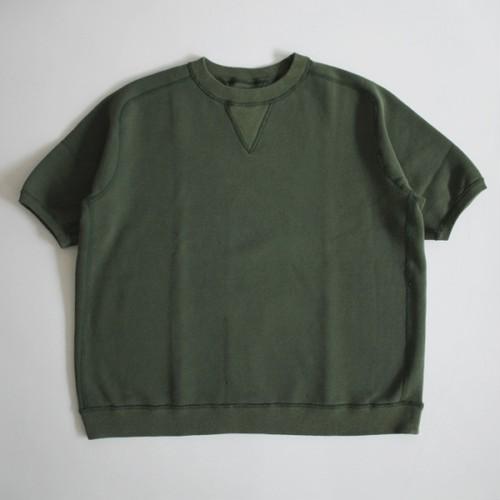 THE NERDYS / SHORT sleeve sweat[GREEN]