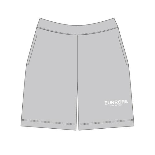 EURROPA LOGO SWEAT HALF PANTS(Gray)