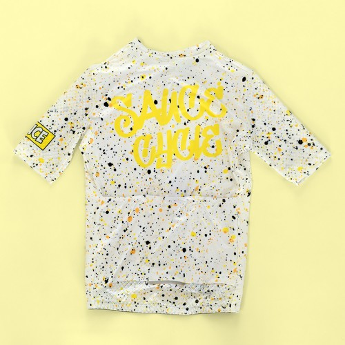 "SAUCE CYCLE ""Sneeze Kit"" Jersey (White)"