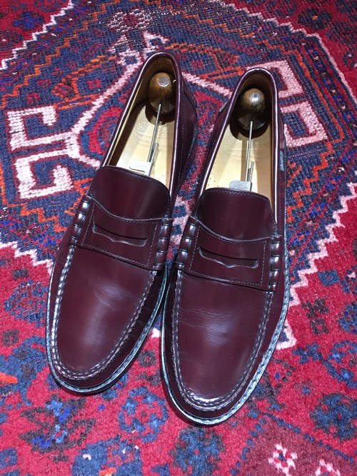 .PARABOOT LEATHER COIN LOAFER/パラブーツレザーコインローファー 2000000032221