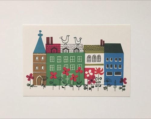 post card / Le debut du printemps