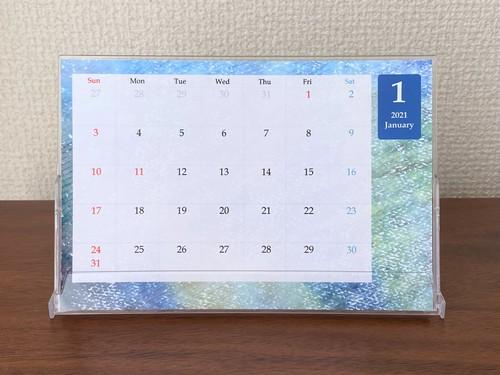 【完全受注生産・12月10日まで】2021年卓上フォトカレンダーB
