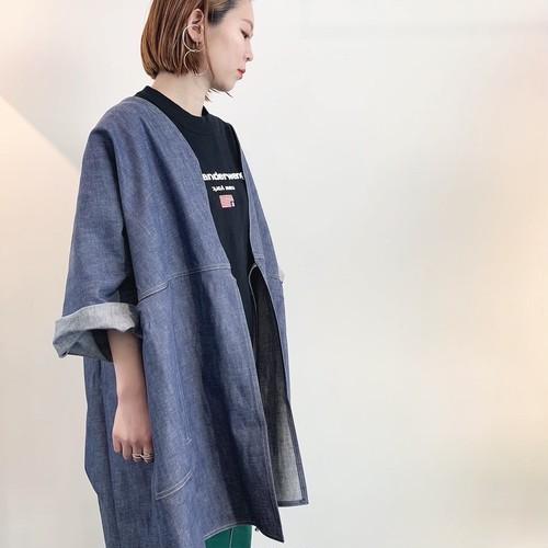【20SS】SOFIE D'HOORE / Denim Wrap Jacket