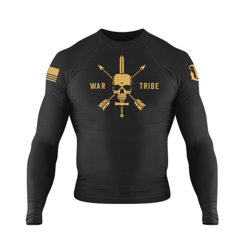 WAR TRIBE PATRIOT RASH GUARD|長袖ラッシュガード