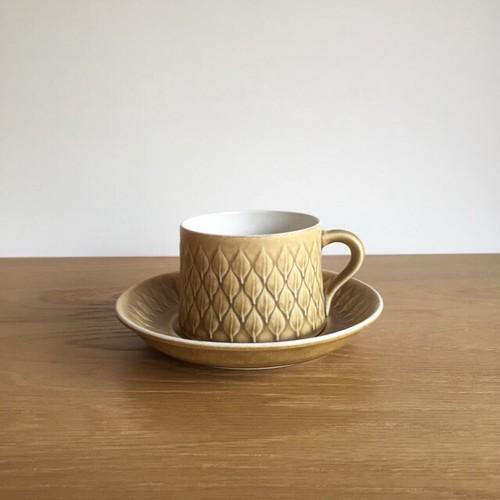 【北欧ヴィンテージ雑貨】Jens.H.Quistgaard Relief cup&saucer イェンス・クイストゴー レリーフ 02