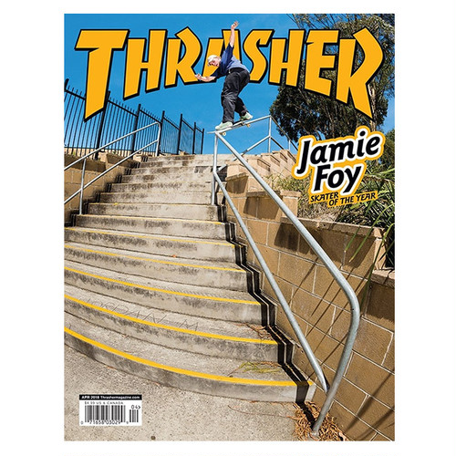 THRASHER - APRIL 2018. Issue 453