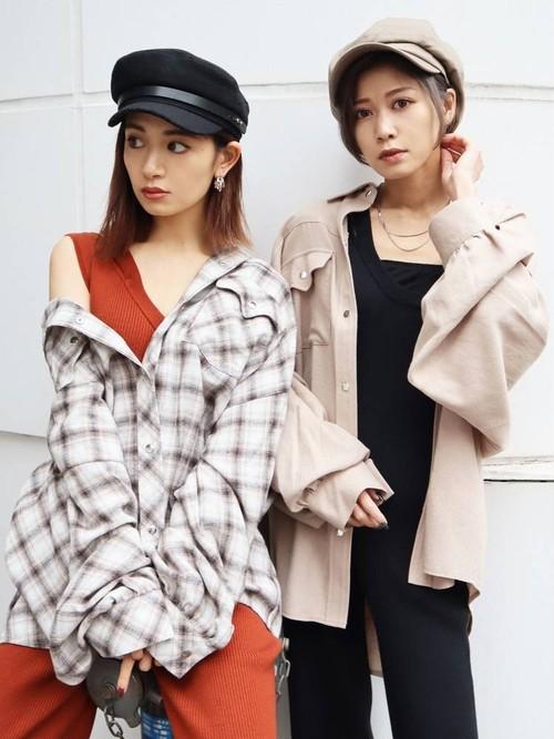 【EMODA】ボーイズスプリングフランネルシャツ