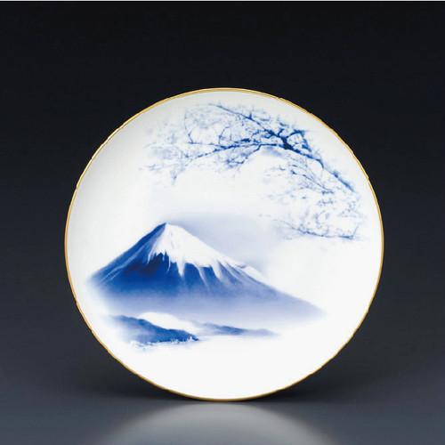 NARUMI Japan 【霊峰 富士山】プレート19cm