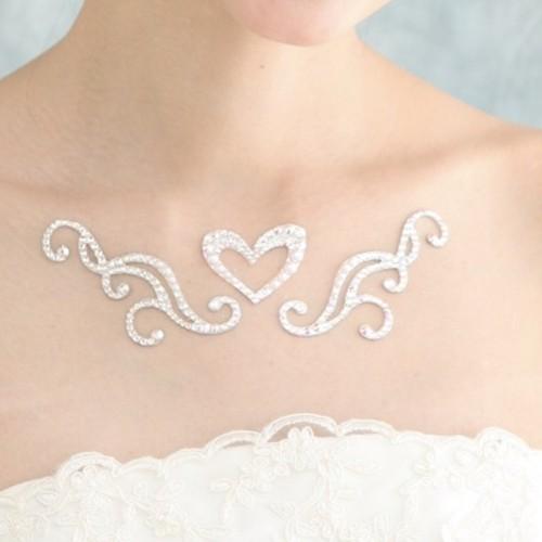 【y-4】花嫁を輝かせるジュエルの魔法 ユリシス3Dボディジュエル