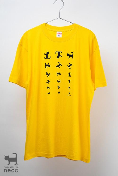 視力検査Tシャツ