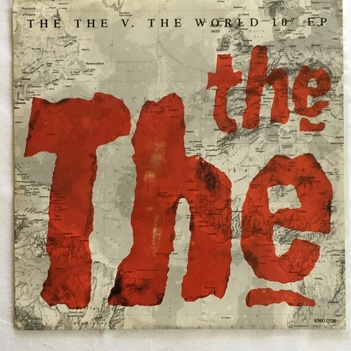 "【10inch・英盤】The The / The The V. The World 10"" EP"