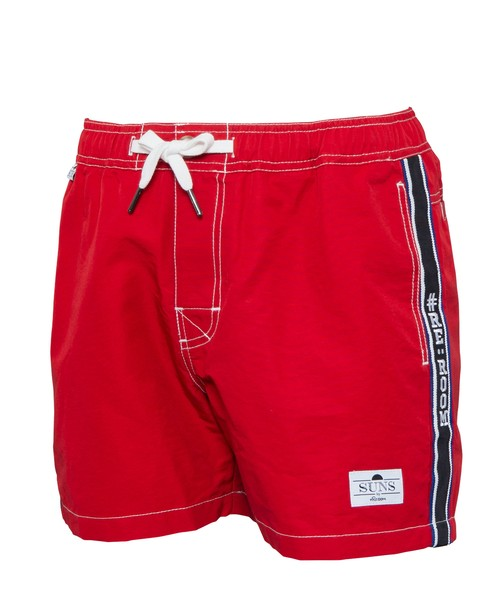 SUNS SIDE LINE LOGO SWIM SHORTS[RSW017]