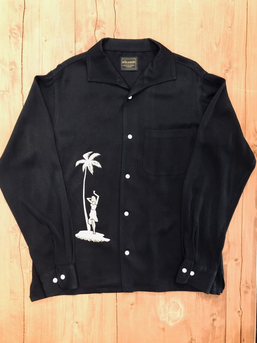 【BY GLAD HAND】Round The World L/S Shirts