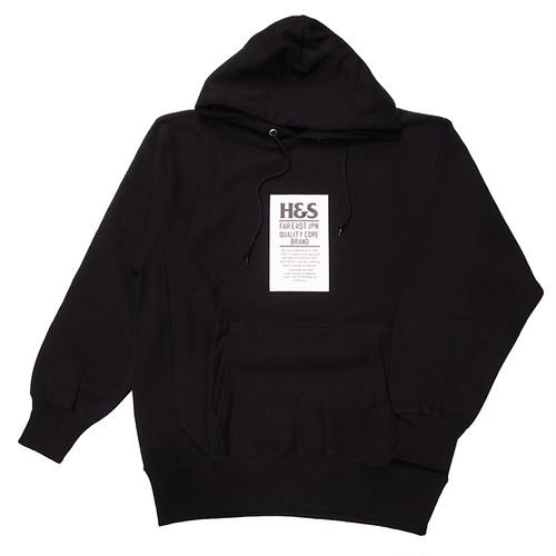 HIDEANDSEEK(ハイドアンドシーク) / H&S TAG HOODED SWEATSHIRT(HC-100720)(スウェットパーカー)