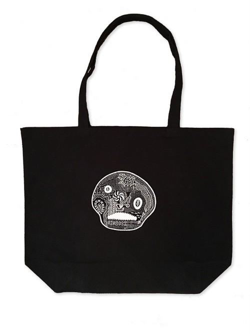 Hand Drawing Tote Bag / Skull