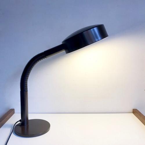 """Hala Zeist"" Vintage Desk Lamp / Brown 70's オランダ"
