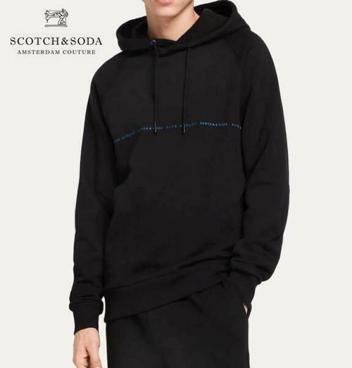 スコッチ&ソーダ SCOTCH&SODA パーカー プルオーバー スウェット メンズ トップス 282-83810 Black  【正規取扱店】