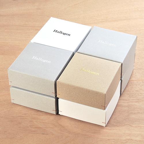 【名入れ箔押し】角留め箱 LL オリジナルギフトボックス 50個 115×115×52mm SK05