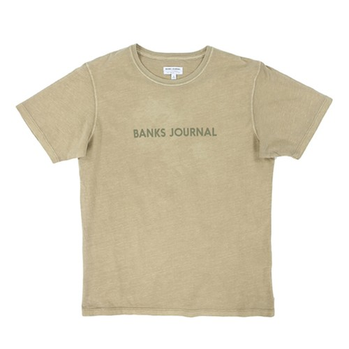 BANKS JOURNAL (バンクスジャーナル) LABEL  Tシャツ ATS0368  DESEAT