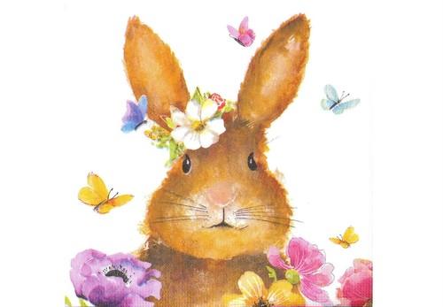 紙ナフキン Easter  Bunny
