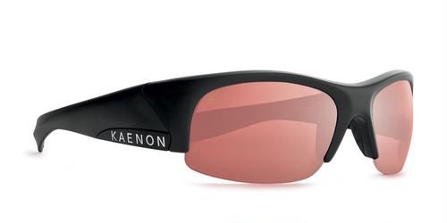 [KAENON] HARDKORE (Matte Black , C28 Silver Mirror)