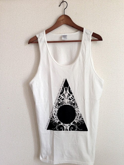 Tank-Top 「Void in Flame」White