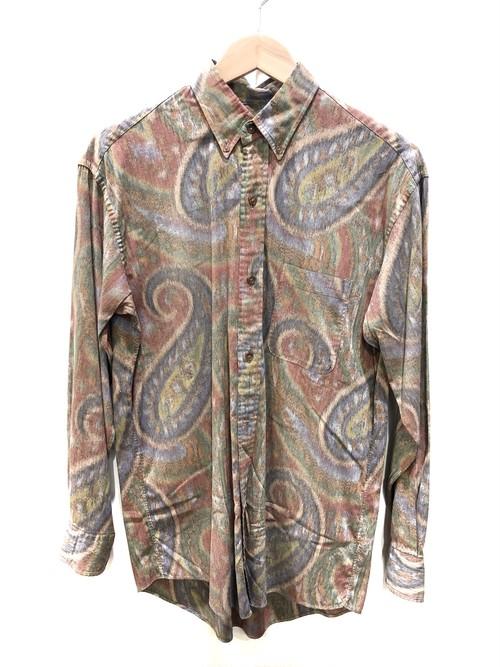 ACEIFA アセイファ 総柄L/Sシャツ サイズ46 マルチカラー