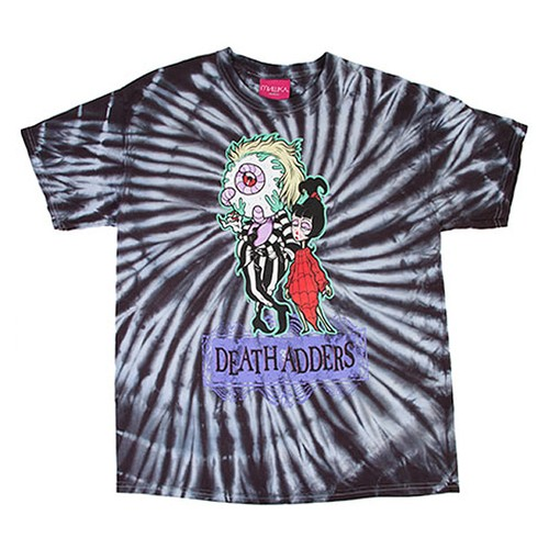 MISHKA LADIES & GERMS T-SHIRT《BLACK TIE-DYE/ブラックタイダイ》