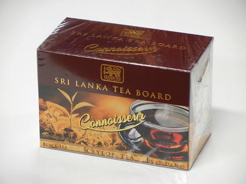 CEYLON CONNOISSEUR TEA セイロンティー コンシュアー 50 TEA BAGS